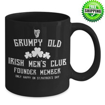 St Patrick's Day Old Grumpy Irish Men Ceramic Coffee Cup Mug Tea Cup Gift  - £8.73 GBP+