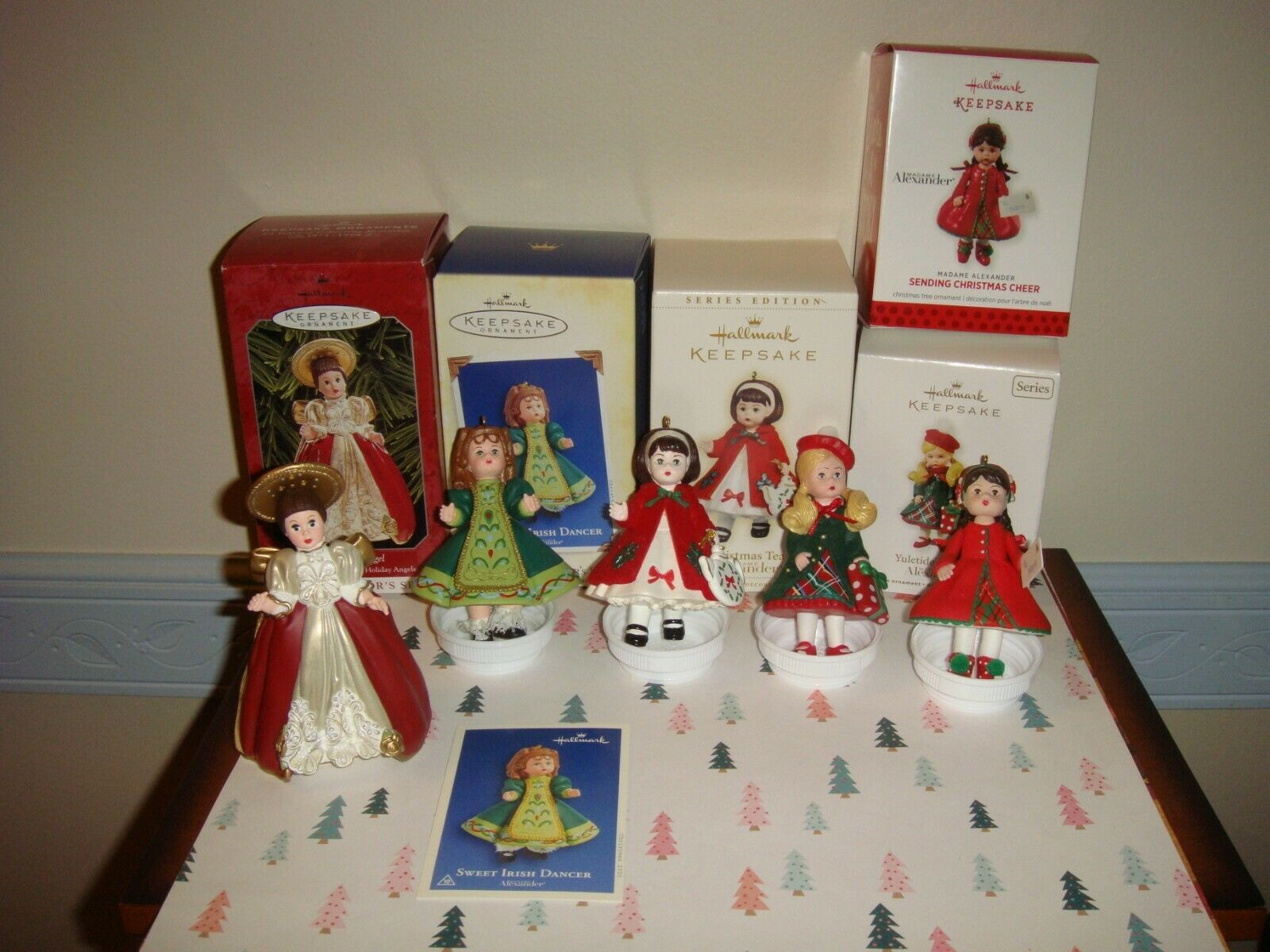 Hallmark 1998 05 06 11 & 13 Madame Alexander Series 01 10 11 16 & 18  Ornaments