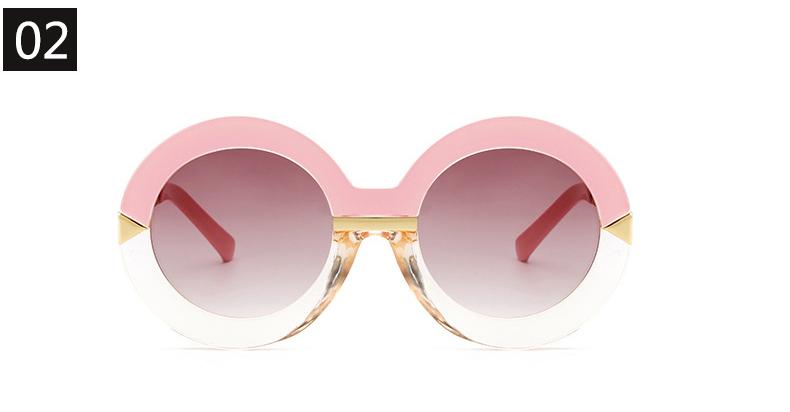 4a297091f89e RSSELDN 2018 New Style Brand Women Round Sunglasses Women Famous Brands  Retro Fa