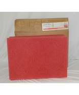 Tri Lateral Sales 40441420 Red Rectangle Buffing Pad 14 By 20 Inches 5 Pack - $51.99