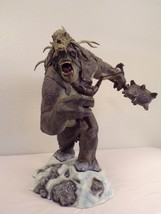 Snow Troll with Dwarf Lord of the Rings Statue Sideshow War in the North... - $1,559.25