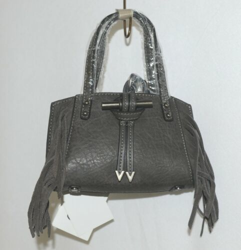 Simply Noelle HB209AG Gray Mommy and Me Collection Childs Fringe Small Purse