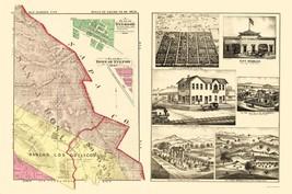 Sonoma  Northeast California Landowner - Thompson 1877 - 23 x 34.73 - $36.95+
