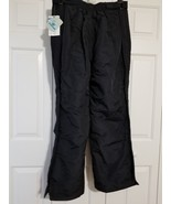 Slalom Men's Snow Ski Insulated Side Zipper Pants Black Size XL NWT - $39.59