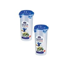 Lock & Lock HPL936D Round Tall Sauce Container 780ml (x2) - $13.99