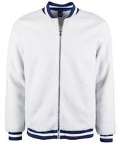 Ideology Men's Fleece Jacket (Pastel Grey, Medium S/S) - $51.18