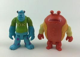 Imaginext Monsters University Sully Big Red Toy Figures 2pc Lot Fisher P... - $10.84