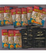 9 Unopened Packs 1987 Wrestlemania lll And 3 1991 WCW Black Packs - $21.56