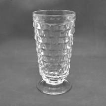 "Mid Century Elegant Clear Fostoria American Footed 6"" Ice Tea Glass Cubi... - $8.91"