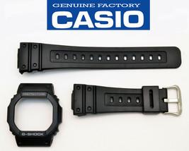Genuine Casio Watch Band  & Bezel Black Rubber Strap GW-5600J  - $26.85