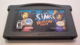 SIMS Bustin' Out NINTENDO GAMEBOY ADVANCE VIDEO GAME CART - $14.85