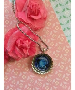 Circling Dolphins Bottle Cap Necklace - $4.00