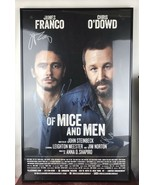 JAMES FRANCO & CHRIS O'DOWD SIGNED OF MICE AND MEN BROADWAY WINDOW CARD ... - $88.83