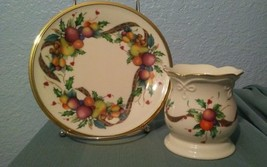 Lot of 2: Lenox Votive Candle Holder & bread butter plate - $23.10