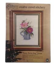 Peony Pewter Mug Stitch Kit ~ National Paragon - $6.99
