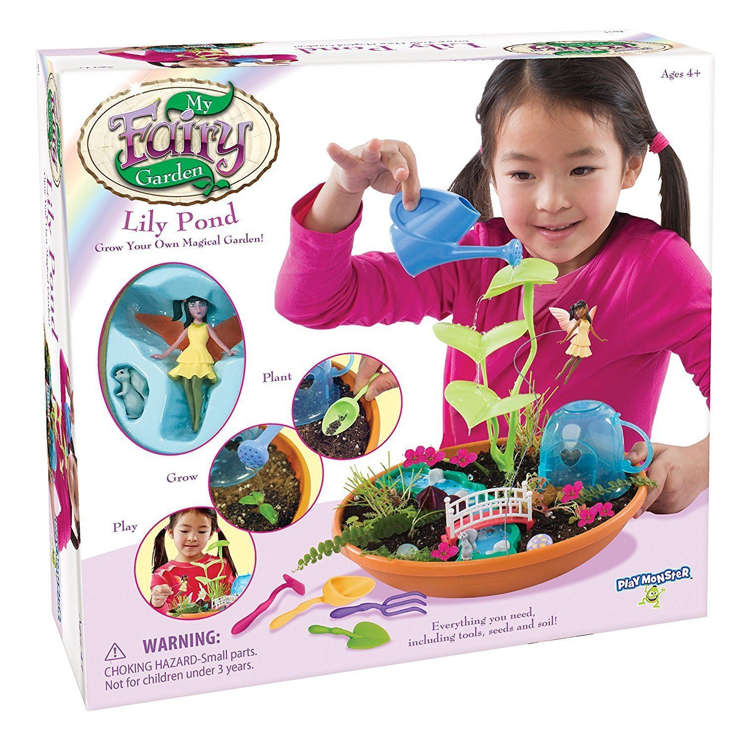 My Fairy Garden Lily Pond Toy [New] PlayMonster Toys