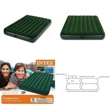Intex Prestige Downy Airbed Kit With Hand Held Battery Pump, Full - ₨1,894.57 INR
