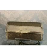 JIMMY CHOO Bronze Clutch Glitter and Leather Trim $595 - $389.96