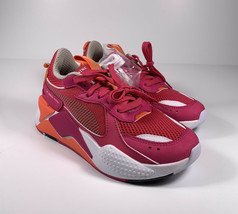 PUMA RS-X Toys Fuchsia Pink Orange Running Shoes Women's Size 6 *NEW* 370750-10 - $66.02