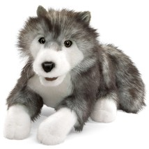Folkmanis Timber Wolf Hand Puppet - $38.05