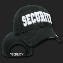 Security Police Shadow Black Embroidered 3D Hat Cap - $31.58