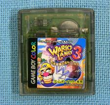 Warioland 3 (Nintendo Game Boy Color GBC, 2000) Japan Import - $8.16