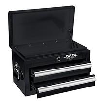 Viper Tool Storage V218MCBL 18-Inch 2-Drawer 18G Steel Mini Storage Ches... - $147.68