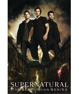 New Supernatural Television Series 24x36 Poster Print Jared Padalecki Je... - $15.38