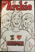 Archie #647 Baltimore Comic Con Variant Rare 2013 - £7.88 GBP