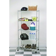 Rack Steel Wire 5 Shelf Heavy Duty Home Pantry ... - $73.92
