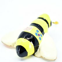 Handcrafted Painted Ceramic Bumblebee Bee Confetti Ornament Made in Peru image 4