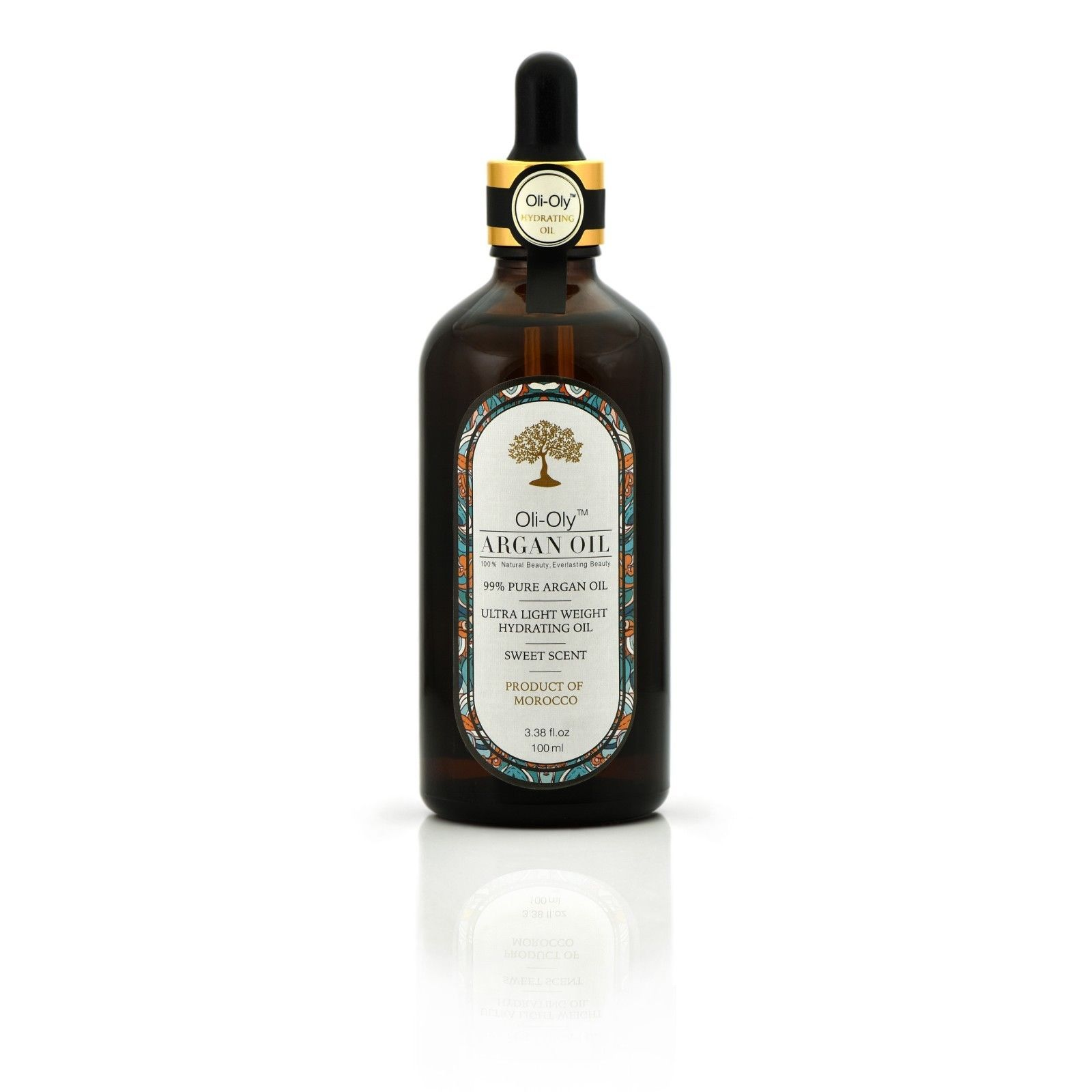 Primary image for 99% Pure Organic Moroccan ARGAN Oil SWEET 100 ml - all types of skin and hair