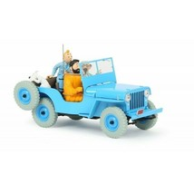 The Jeep Willys 1/24 model car Voiture Tintin 2019 Destination Moon