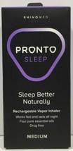 (New) Rhinomed Pronto Sleep Rechargeable Vapor Inhaler - Medium - $16.33