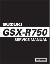 2006-2007 Suzuki GSX-R750 Service Repair Manual on a CD - GSXR750 GSXR 750 - $12.99