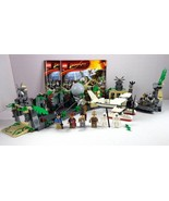 LEGO Indiana Jones Temple Escape Set 7623 Complete with 6 Minifigs - $168.25