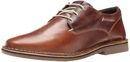 New in Box - Steve Madden Harpoon Derby Tan Leather Oxfords Size 9 - $49.99