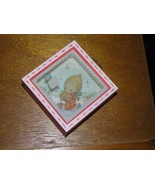Vintage Hallmark 1980 Red with Pink Trim Shadow Box BETSEY CLARK Christm... - $8.59
