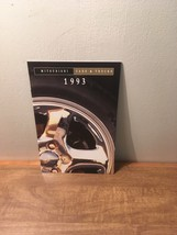 1993 Mitsubishi Cars and Trucks Brochure - $8.90