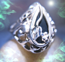 Haunted Ring 700X Abundantia Abundance Offers Only 7 Scholars Extreme Magick - $200.00