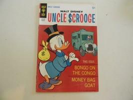 Walt Disney Uncle Scrooge #73 Gold Key 1968 Comic Book - $7.84