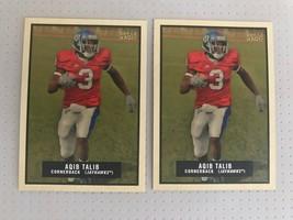Aqib Talib Two Card Lot 2009 Topps Magic #96 Los Angeles Rams - $4.50