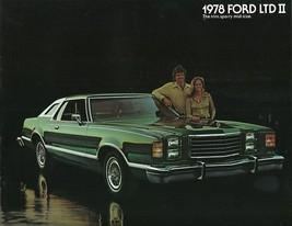 1978 Ford LTD II sales brochure catalog US 78 Brougham S - $9.00