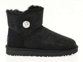 Ankle boot UGG AUSTRALIA 3889 in black suede leather - Women's Shoes - $272.46