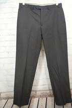 Ralph Lauren 100% Wool Men's Dress Pants - 36W x 32L - Brown/Black Flat ... - $39.59