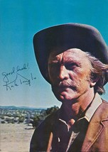 Kirk Douglas signed color photo. Nice ! - $30.00
