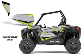 AMR Racing Polaris RZR 900S Lower Half Door Insert Graphic Wrap Kit 2018... - $98.95
