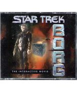"""Star Trek """"Borg""""  the Interactive Movie (boxed set of 3 CDs + Booklet) - $15.00"""