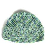 Crochet Kids Hat Betty Beanie Multi Colored Ski Winter Fall Hat Cap Hand... - $11.36