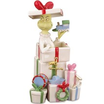 Lenox Grinch Gets The Gifts Figurine Dr Seuss W... - $71.00